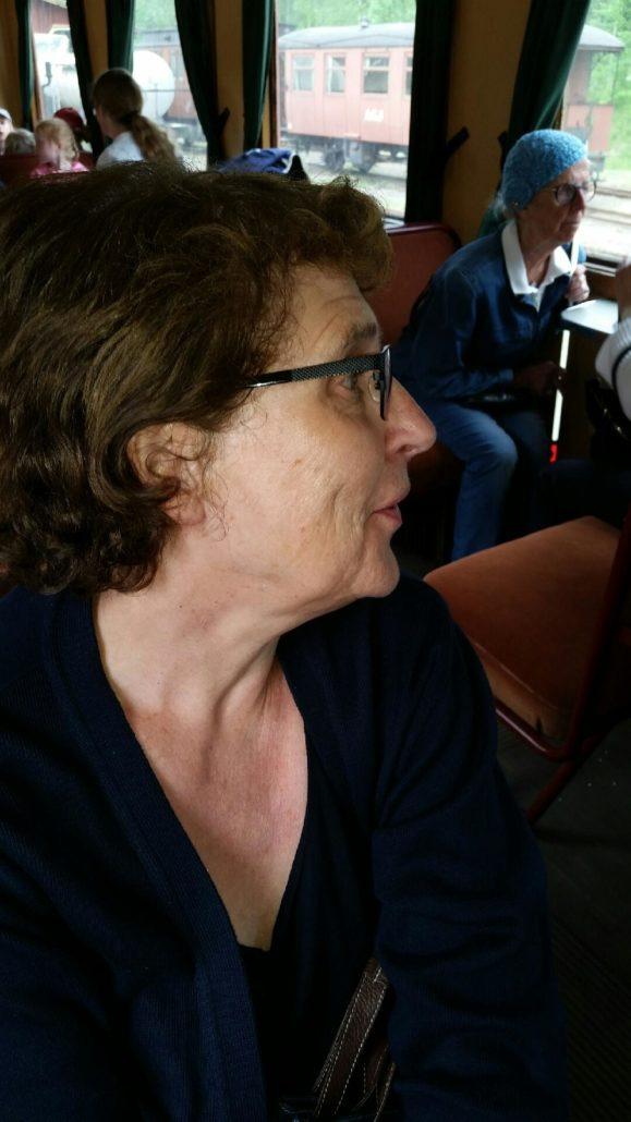 Lena Eilersson var en av föreningens representanter på mötet